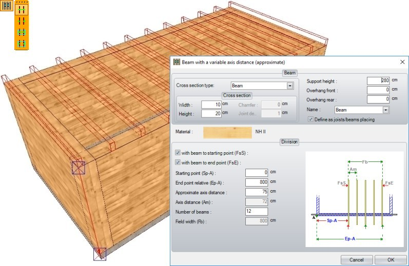 Weto ag viskon a roof module 3d software for timber for Hip roof design software
