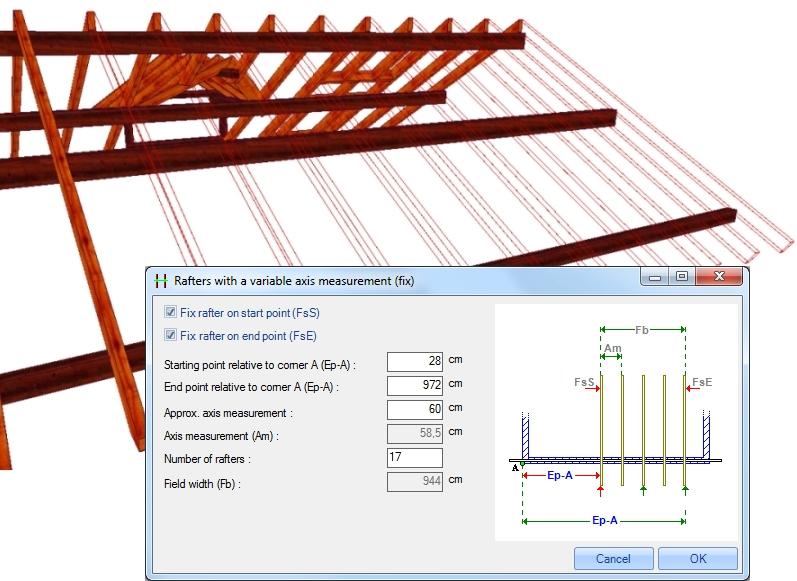 Weto Ag Viskon A Roof Module 3d Software For Timber