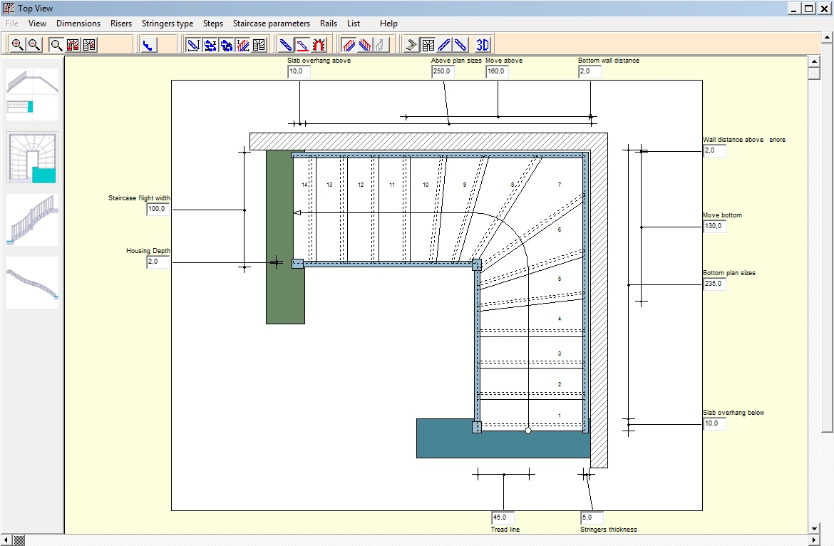 WETO AG - Scalinata - Easy and Free Software for making Timber