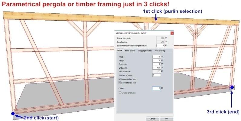 WETO AG - VisKon B (wall module) - 3D software for Timber Houses ...